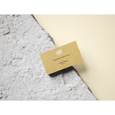 creative environmentally friendly business cards
