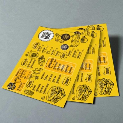 Paper Placemats printed table mats