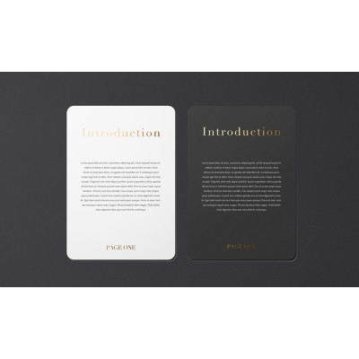 Rounded Corners Flyers